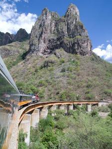 Zugfahrt durch den Kupfercanyon
