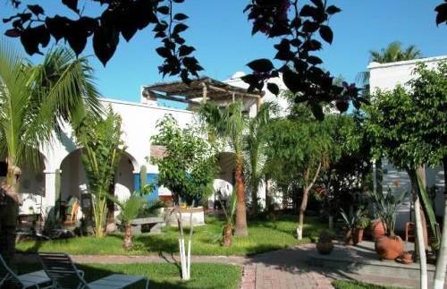 Die Hotelanlage in La Paz