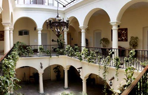 Innenhof Oaxaca