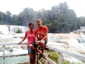Wasserfälle Agua Azul