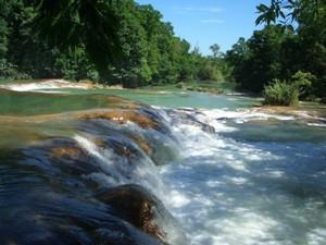 Mexiko Palenque Agua Azul Reisen
