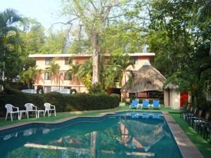 Rundreise Yucatan - Hotelpool