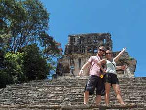 Palenque Ruinen