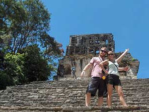Pyramide in Palenque