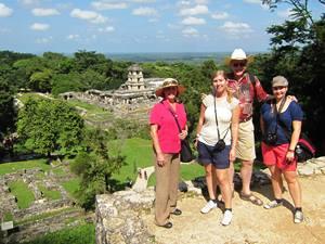 Palenque Aussicht