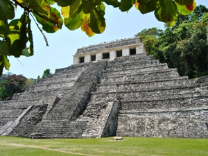 Tempel Palenque