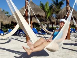 Hängematte in Playa del Carmen