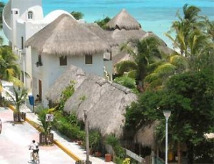 Stadtansicht Playa del Carmen