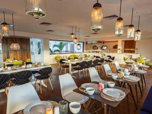 Playa del Carmen Mexiko Komforthotel Restaurant