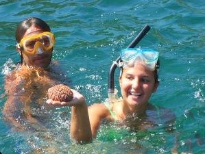 Schnorcheln Pazifikküste