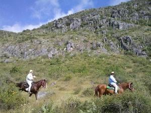 Berge bei Oaxaca