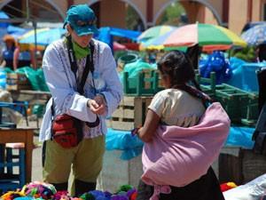 Mexiko Yucatan Rundreise Chamula Markt