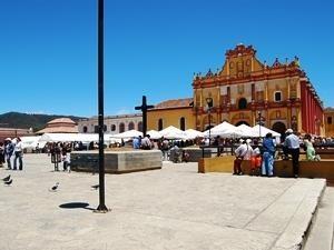 Marktplatz Mexiko San Cristóbal de las Casas