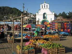 Markt in San Cristóbal bei Mexiko Rundreise