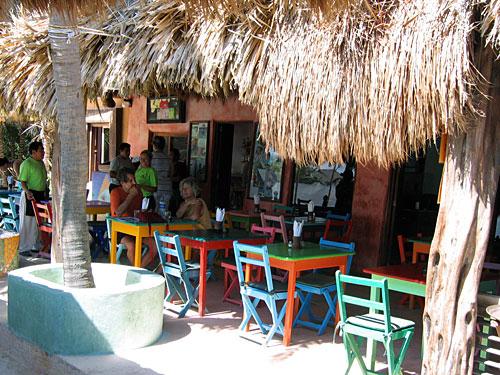 Tulum Posada Bar Mexiko Yucatan Rundreise
