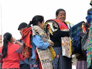 Frauen auf dem Markt