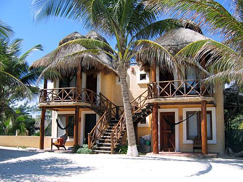 Tulum Posada Strand Mexiko Rundreise
