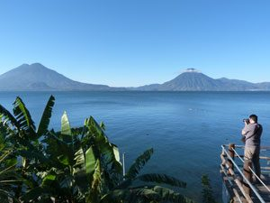 Guatemala Rundreise Atitlan-See Panajachel Vulkane