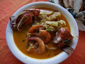 Guatemala Rundreise Tapado Fischsuppe