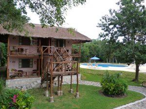 Chicanna Ecovillage Unterkunft Mexiko Familienurlaub