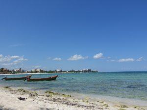 Strand Playa del Carmen Mexiko mit Kindern