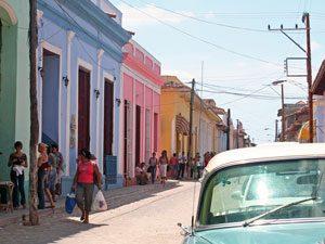 In den Straßen von Trinidad
