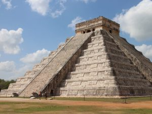 Mexiko Yucatan Chichen Itza Pyramide