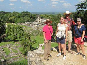 Mexiko mit Kindern Yucatan Palenque