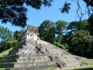 Mexiko Yucatan Palenque Ruinen
