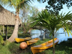Laguna Bacalar Kajaktour Mexiko Rundreise