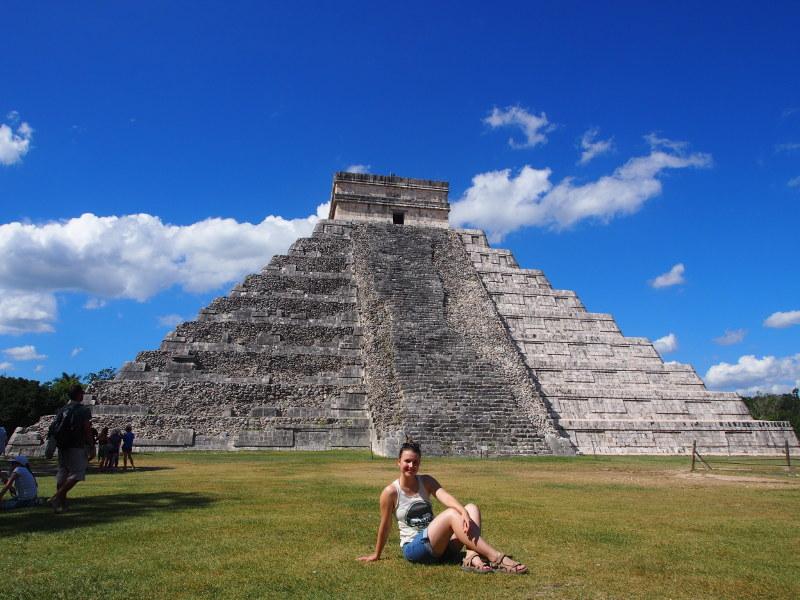 Mexiko Yucatan Rundreise Chichen Itza Maya-Ruine