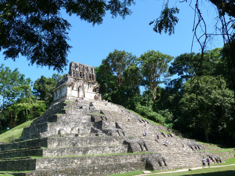 Rundreisen Mexiko Palenque Ruinen Yucatan