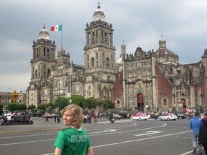 Historisches Zentrum Mexiko Stadt