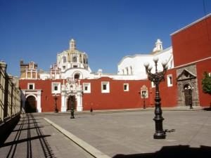 Mexiko-Konvent-in-Puebla-Architektur