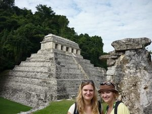 Mayakultur bei Palenque