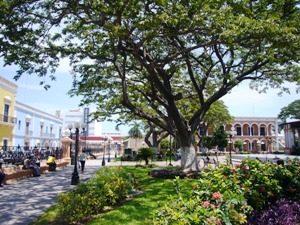 Mexiko-Campeche-Zocalo