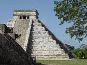 Mexiko-Ruinen-Chichen-Itza