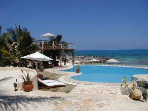 Hotel auf der Isla Mujeres