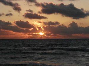 Sonnenuntergang auf der Isla Mujeres