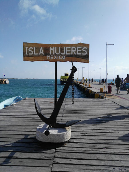 Isla Mujeres - Hafen