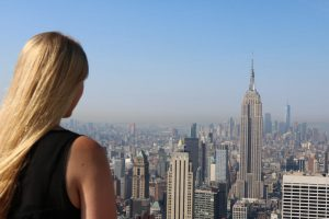 Ausblick auf New York