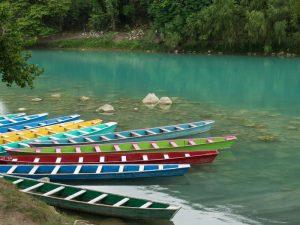 Kanutour Wasserfall Tamul Mexiko Gruppenreise