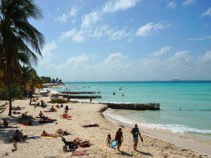 Entspannte Tag auf der Isla Mujeres