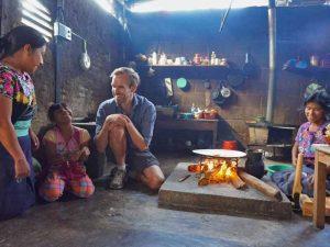 Ein Einblick in ein indigenes Dorf