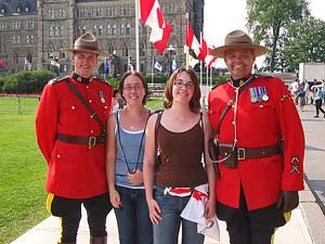 Reisinformatie Canada: mounties