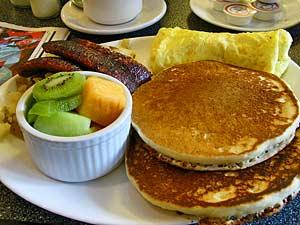 Rondreis Canada: goed ontbijt