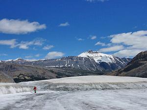 Athabasca gletsjer Canada