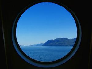 Daghut op veerboot - Inside Passage