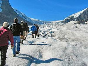 Canada reis: gletsjerwandelen