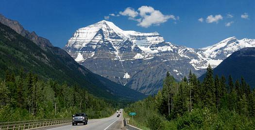 Canada reis autorijden